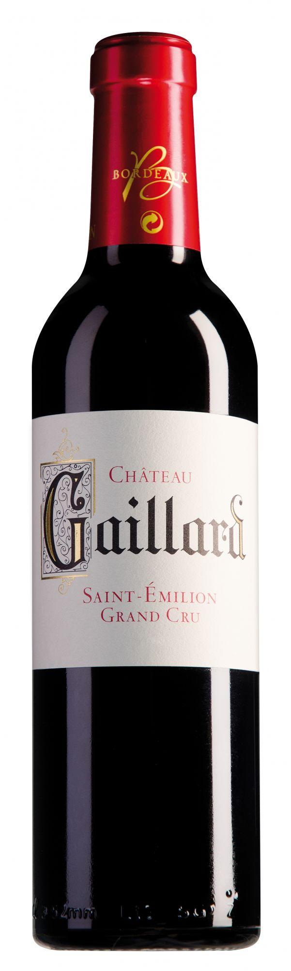 Château Gaillard Saint-Émilion Grand Cru halve fles