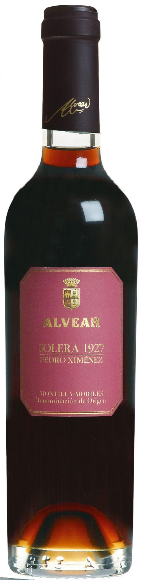 Alvear Montilla-Moriles Pedro Ximénez Solera 375ml.