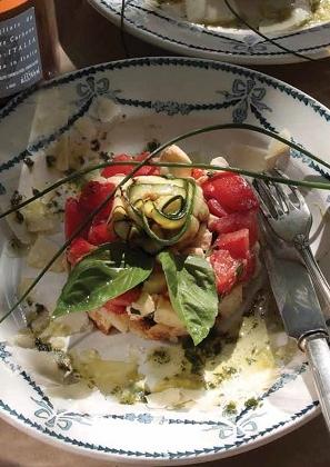 Tomaten-kaas taartje