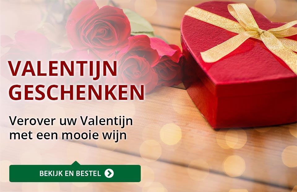 Wijngeschenken - Valentijn - rood