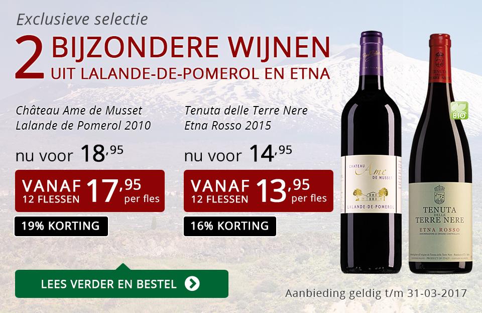 Exclusieve wijnen maart 2017 - rood