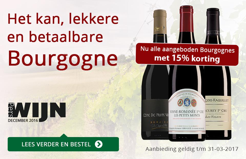 Het kan, lekkere en betaalbare Bourgogne - rood