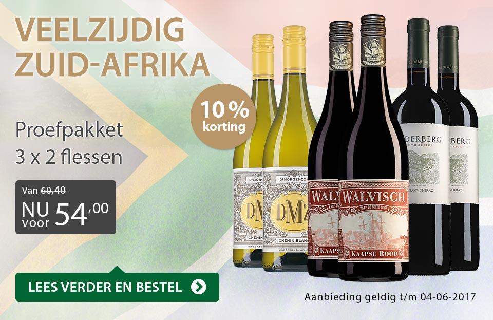Proefpakket Veelzijdig Zuid-Afrika - grijs/goud