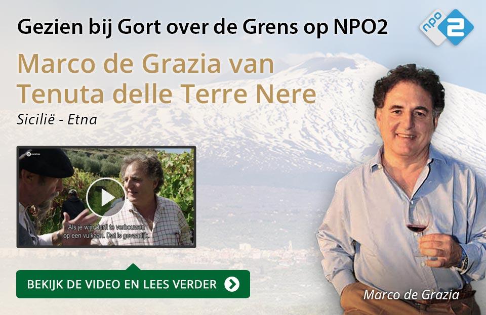 Marco de Grazia van Terre Nere op NPO2 - goud/zwart