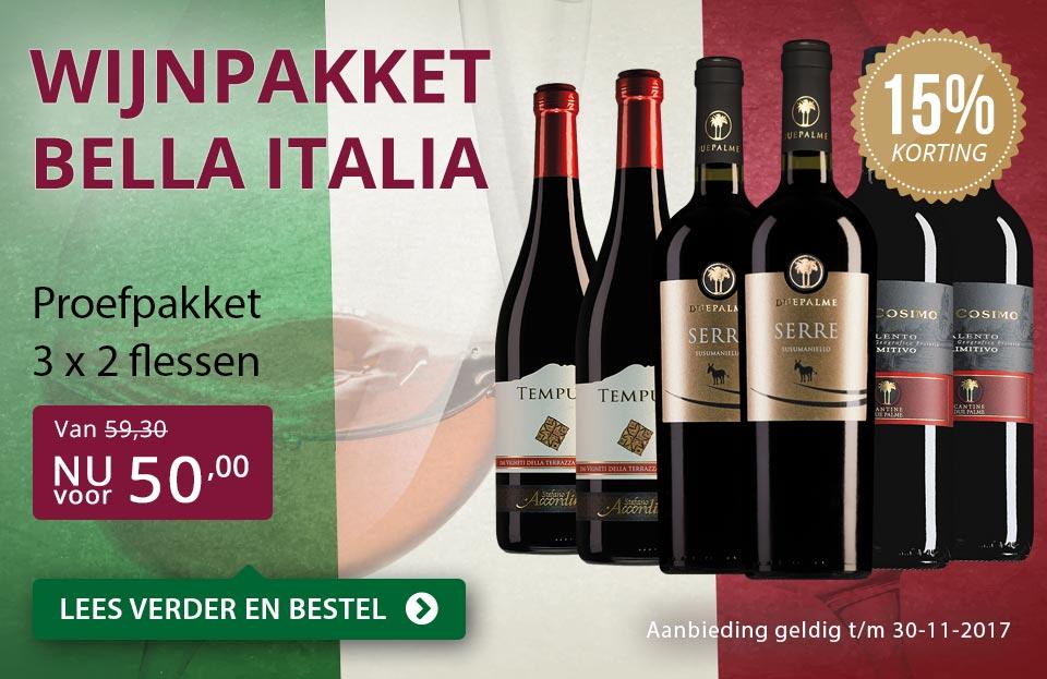 Proefpakket Bella Italia - paars