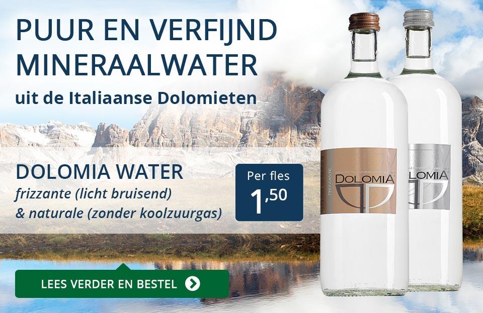 Dolomia mineraalwater - blauw