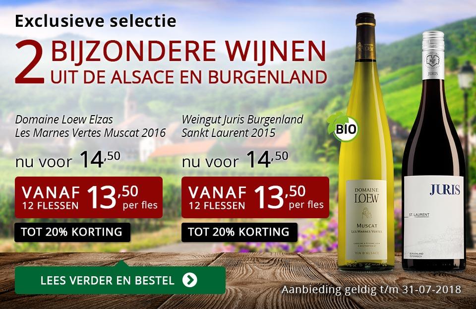 Exclusieve wijnen juli 2018 - rood
