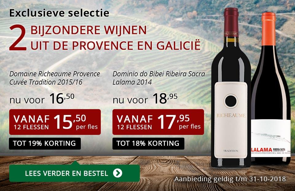 Exclusieve wijnen oktober 2018- rood