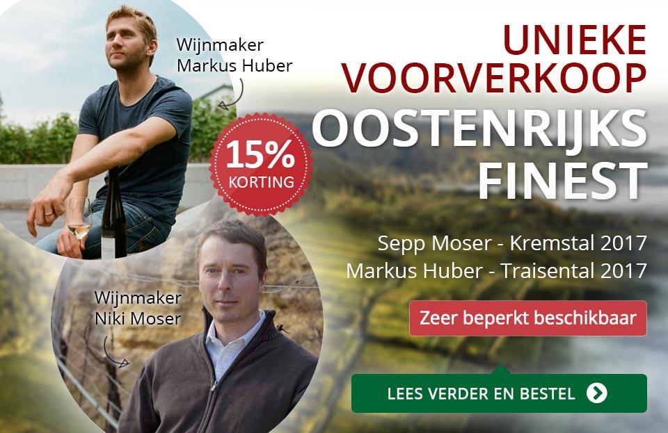 Voorverkoop Sepp Moser en Markus Huber 2017 - rood