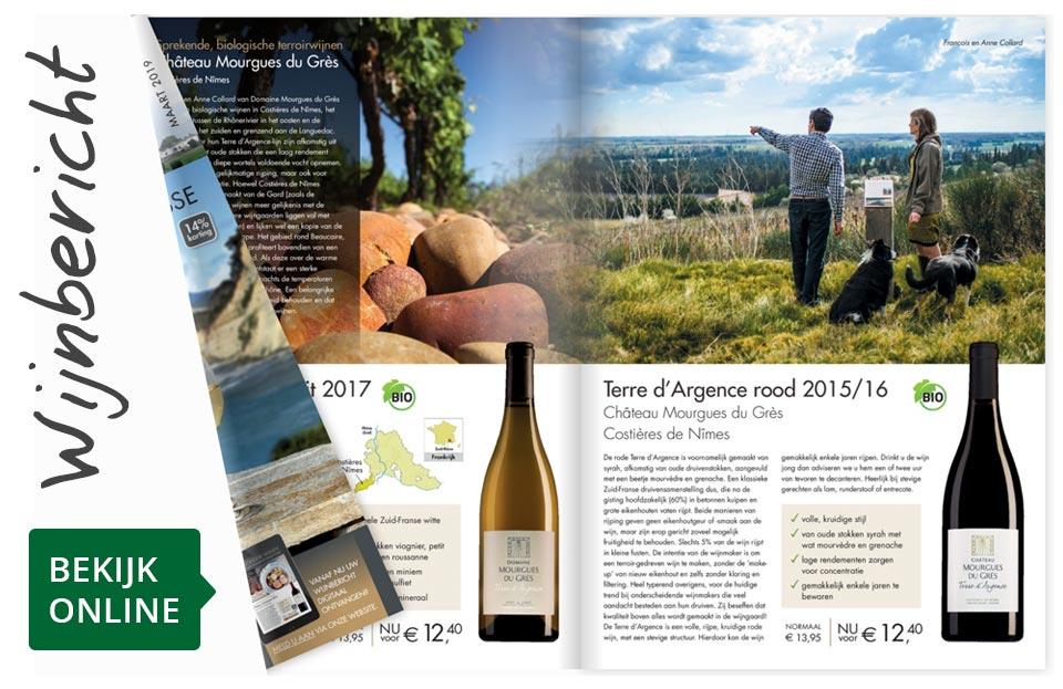Online wijnbericht maart 2019