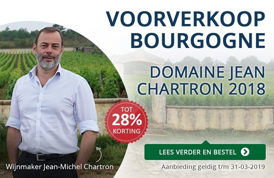 Voorverkoop Bourgogne: Domaine Jean Chartron 2018 - blauw