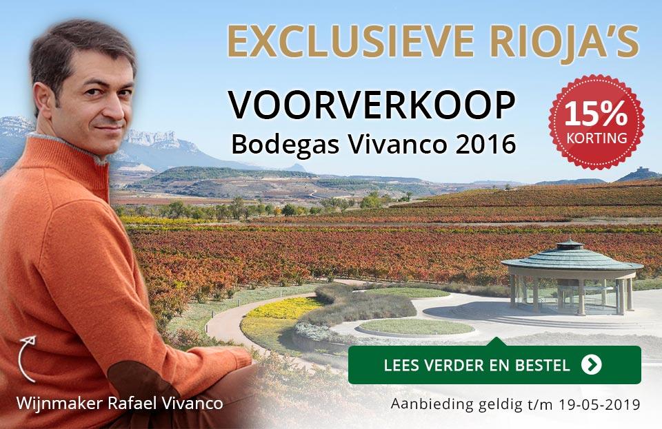 Voorverkoop Vivanco 2016 - goud/zwart