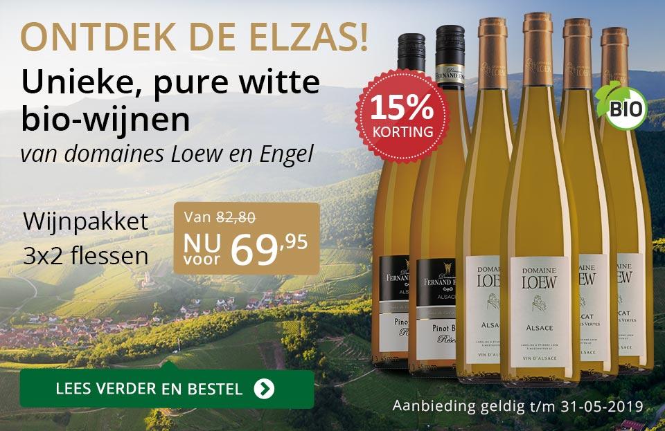 Ontdek de Elzas en wijnpakket - goud/zwart