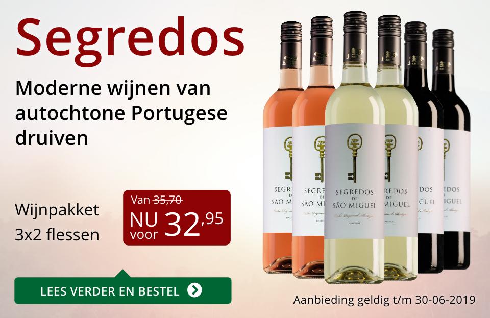 Wijnpakket Segredos(32,95) - rood