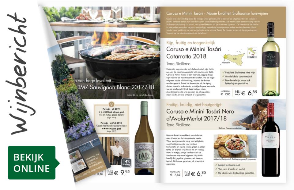 Online wijnbericht augustus 2019