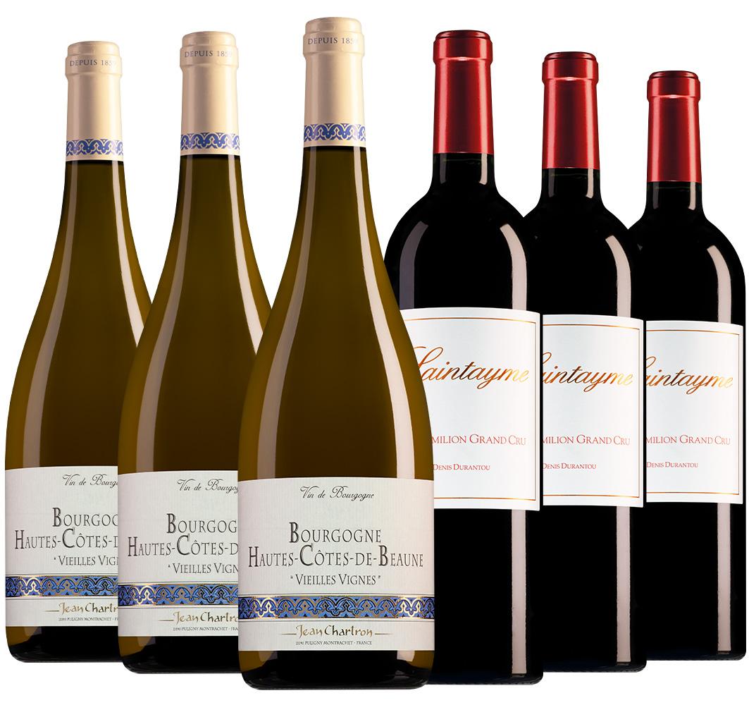 Wijnpakket bijzondere wijnen januari (2x3 flessen)