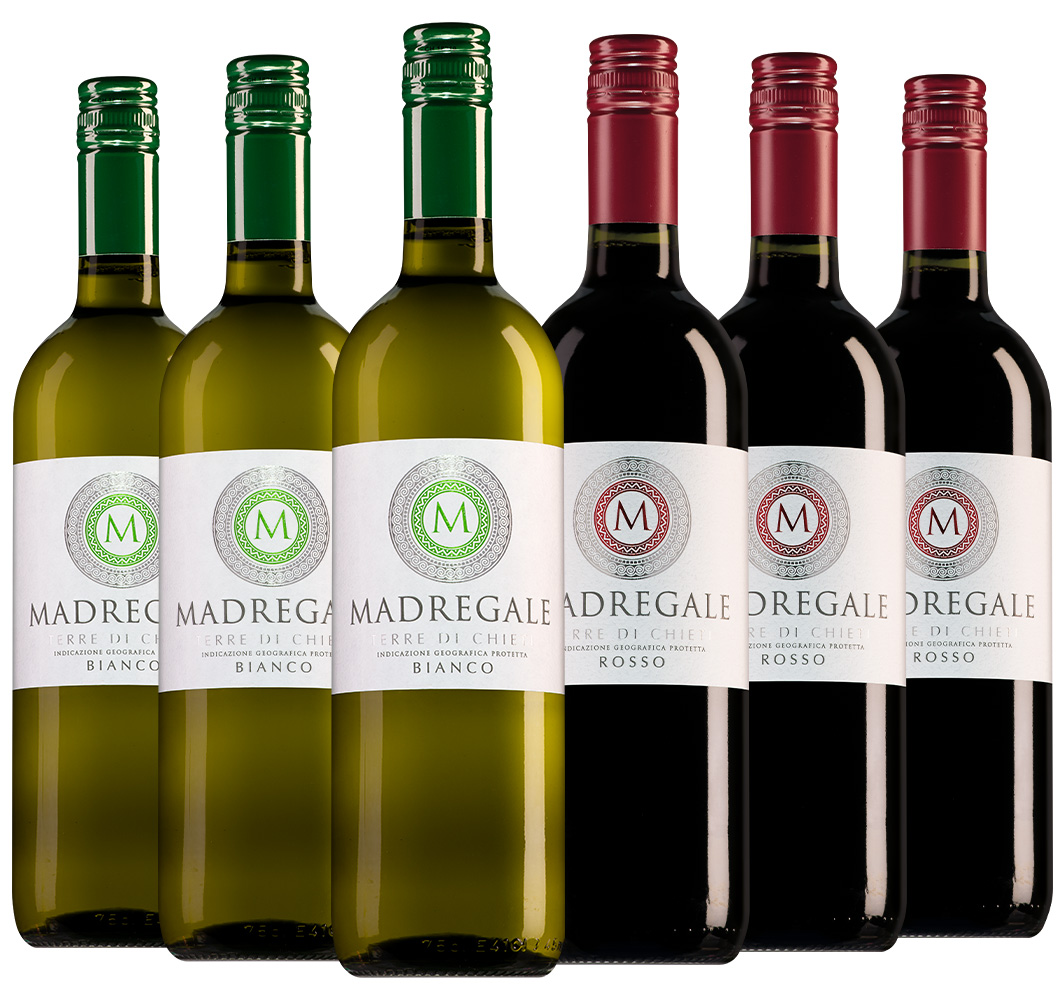 Wijnpakket Madregale (2x3 flessen)