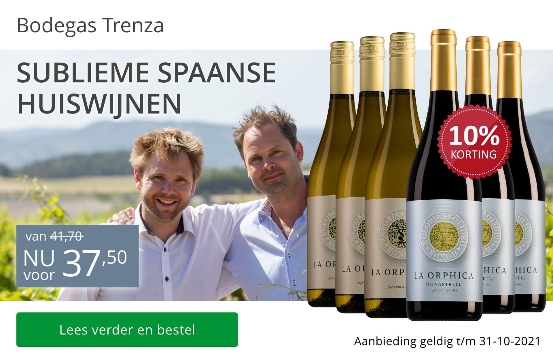 Wijnpakket Bodegas Trenza (huiswijnen)