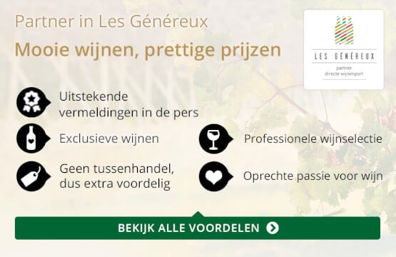 Partner in Les Genereux - goud/zwart
