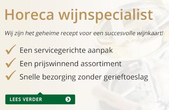Horeca Wijnspecialist - goud/zwart