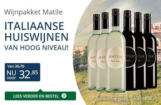 Wijnpakket Matile (32,85)-blauw